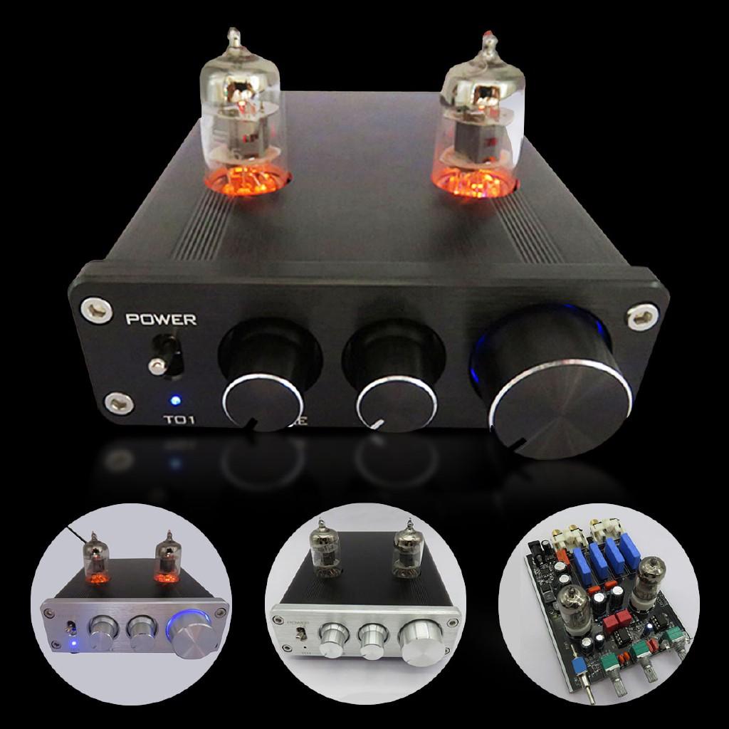 Mini 6J1 Audio Tube Valve Vacuum Tube Pre-Amplifier Stereo Audio Hi-Fi Amp