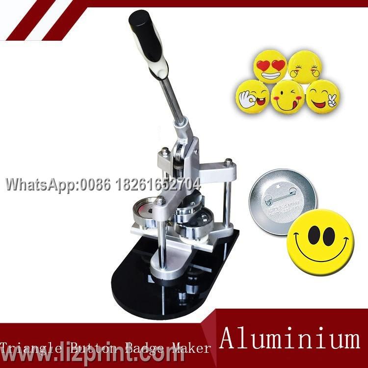 Aluminium Badge press making machine button badge maker machine For DIY  Badges