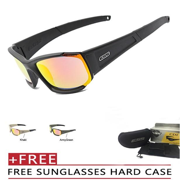 7c109549e2 New ESS CDI military fans eye glasses tactical glasses sports sunglasses
