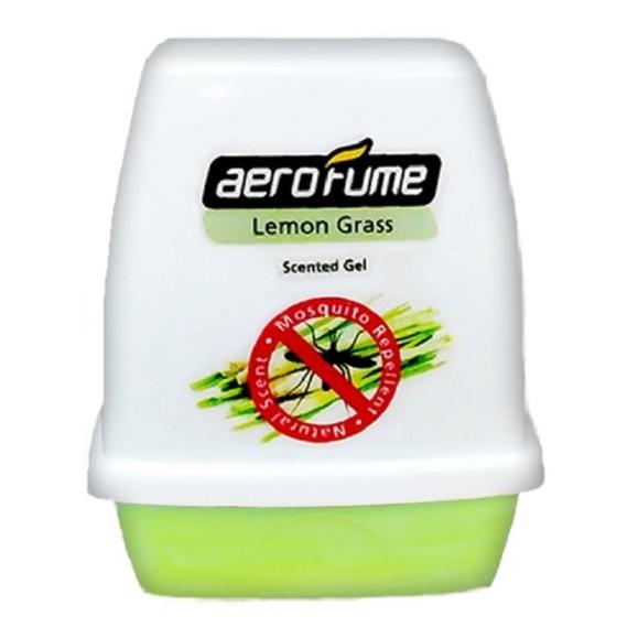 Aerofume Scented Gel Series Air Freshener Perfume (Rose / Lavender / Aqua Flora) Fragrance