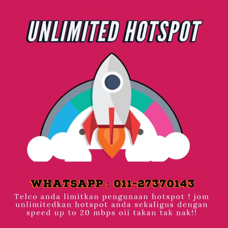 Umobile [GX30 GX50] Boost Speed Internet & Unlimited Hotspot