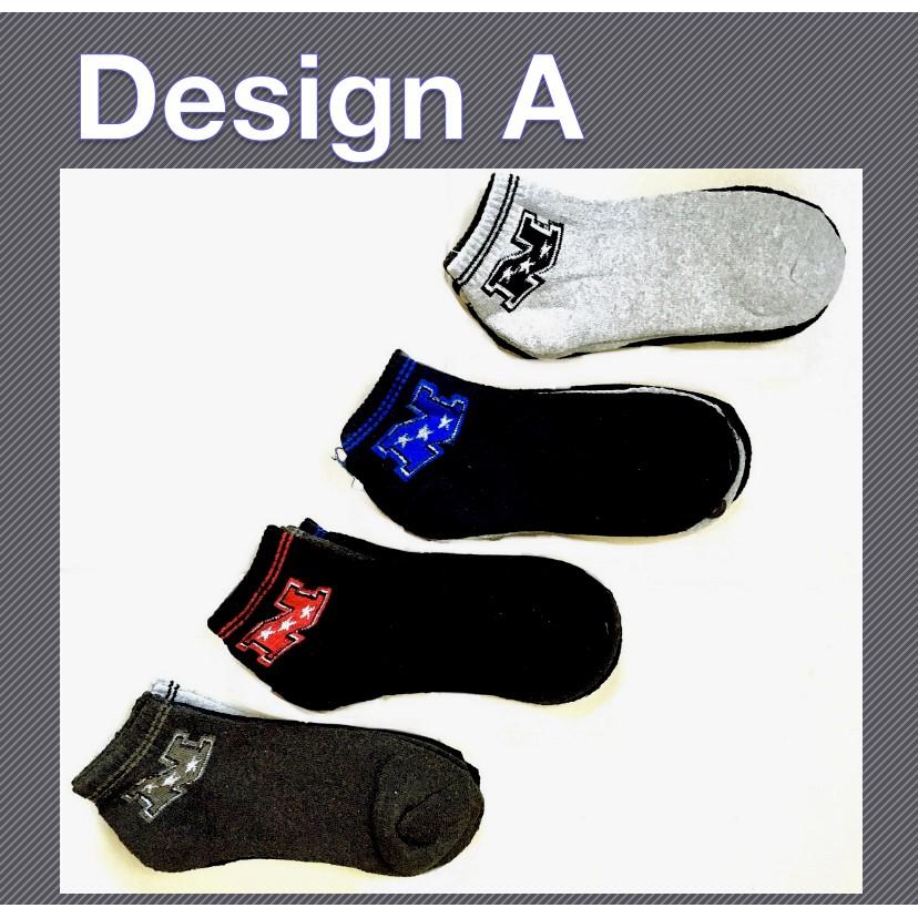 Sports Short Thick Comfortable Casual Unisex Cotton Low Cut Socks Simple Sport Design