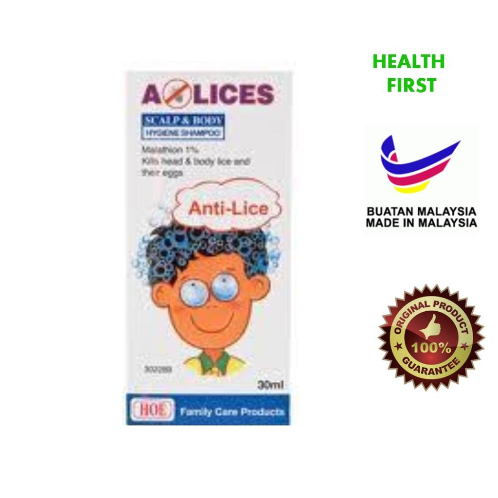 A Lices Lotion 60ml For Head Lice And Pubic Shopee Malaysia Shampoo Anti Kutu