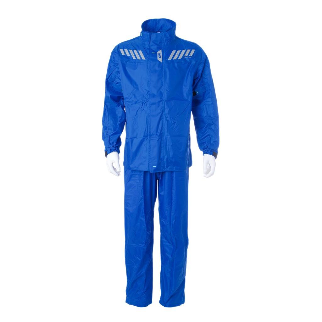 Raincoat GIVI RRS04 Ridertech Baju Hujan (Blue Solid)