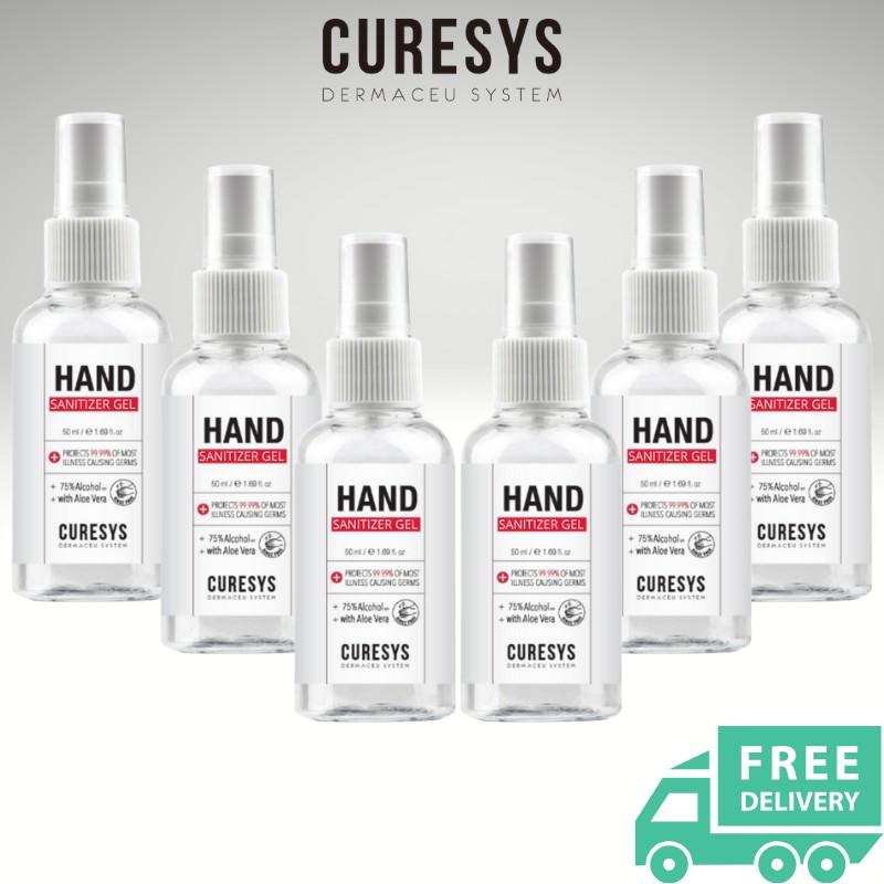 CURESYS - Hand Sanitizer 50ML (6pcs Bundle)