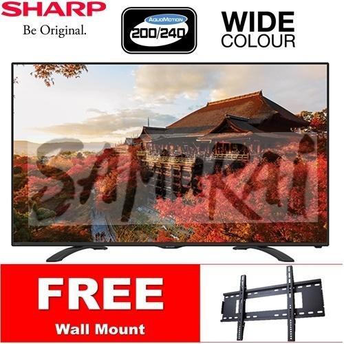 SHARP FULL HD DIGITAL TUNER LED TV 50'' 2TC50AD1X