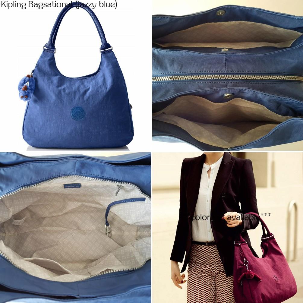 2fdbb6c3c NWT Authentic Kipling Bagsational Handbag Shoulder Bucket Bag   Shopee  Malaysia