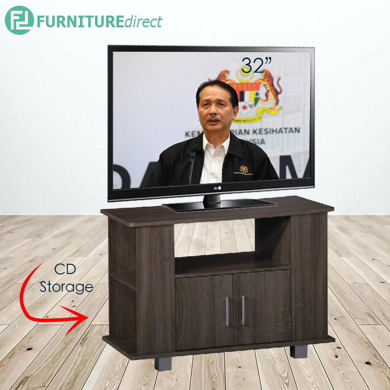 REDA 80cm TV cabinet with CD storage/ rak tv/