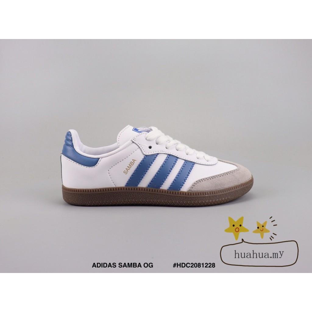 unique design hot new products most popular 🌟Original🌟 ADIDAS SAMBA OG Retro casual shoes samba replica white&blue