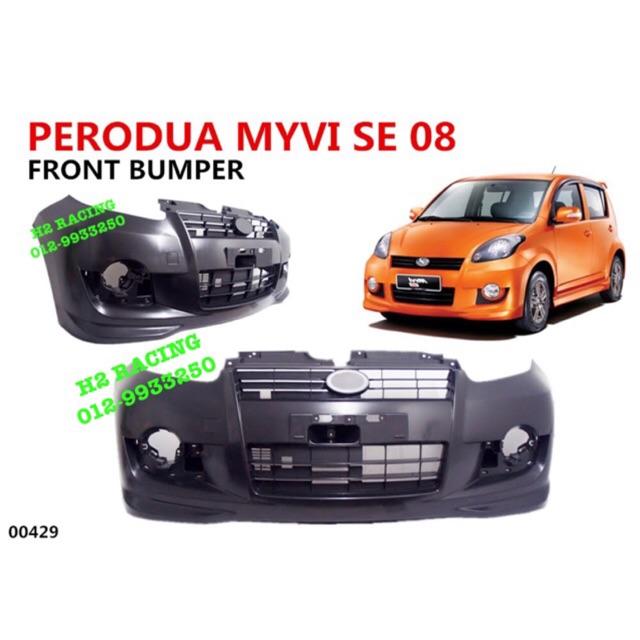 official photos 94379 507e3 PERODUA MYVI ✅ SE 2008-2010 SE 2 SE2 FRONT BUMPER DEPAN (PP PLASTIK)  100%FIT 大包围