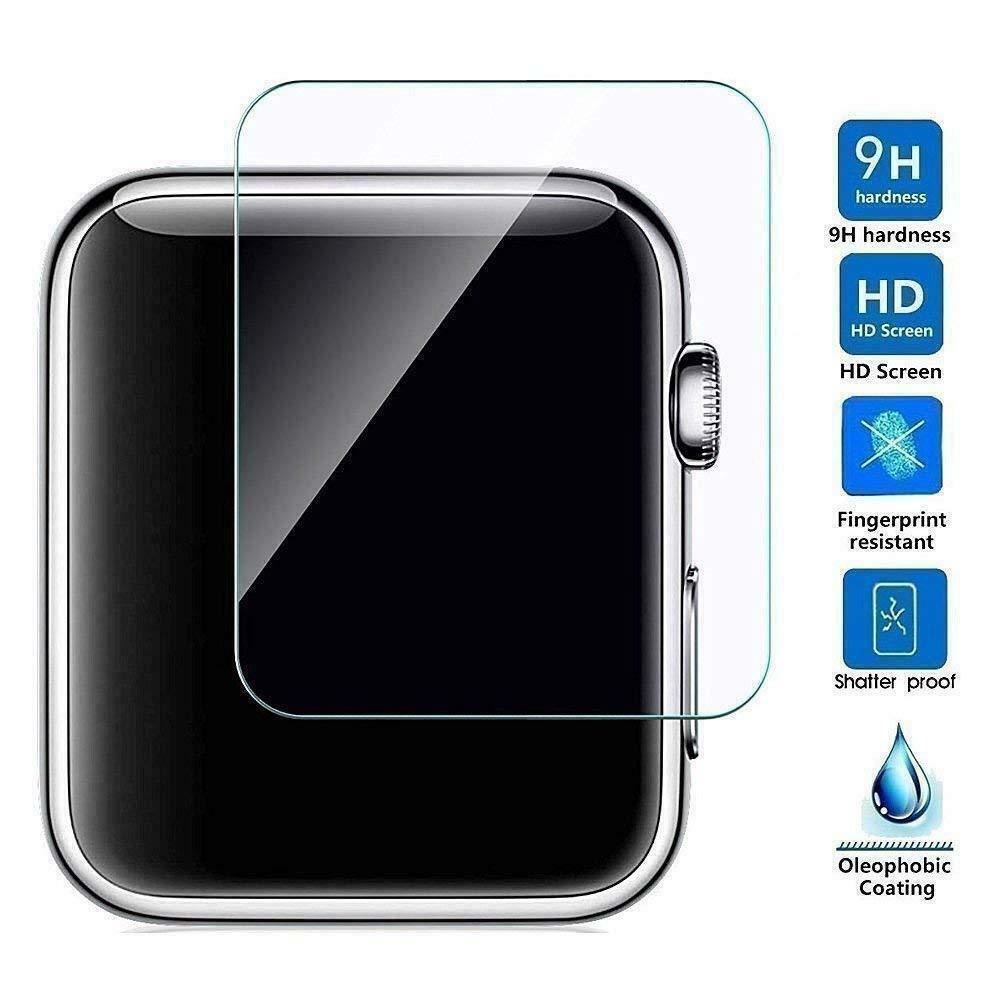 1 ชิ้น Apple Watch Series 4 ฟิล์มกระจกนิรภัยกันรอย 44 / 4