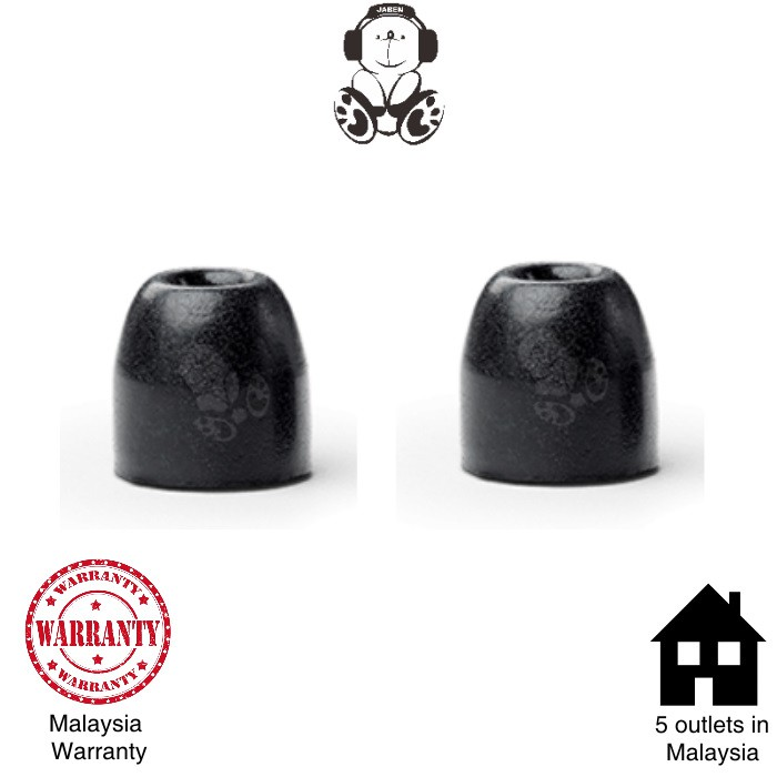 Shure Olive EABKF1 Replacement Foam Eartips / Sleeves [Jaben] Westone Etymotic Phonak