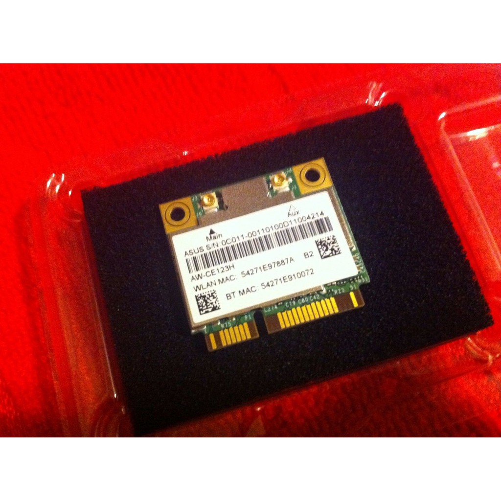ORIGINAL WIFI CARD AW-CE123H 802 11 ac WiFi+BT Broadcom Bluetooth 4 0