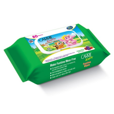 Carrie Junior Baby Wipes (30s x 2) / 80s