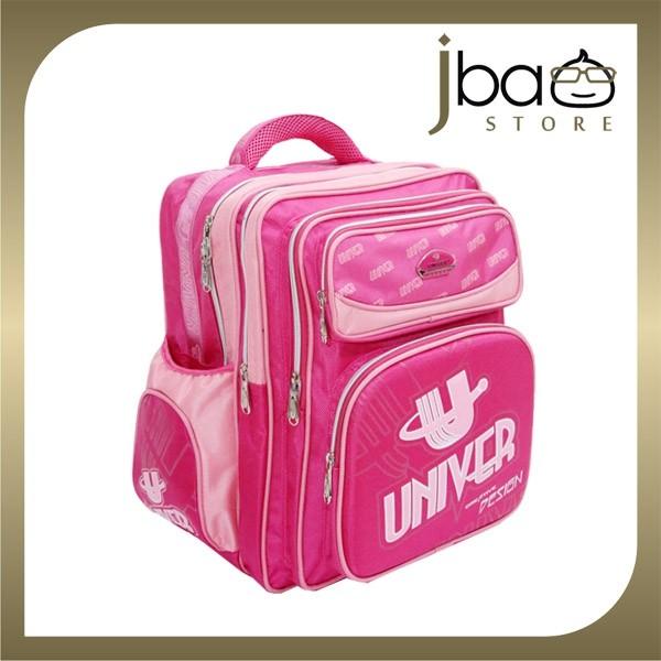 Univer School Bag Kid Primary Student Backpack (Pink)