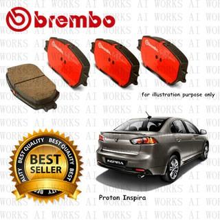 Proton Inspira 1 8/2 0 Front & Rear Brembo Brake Pad