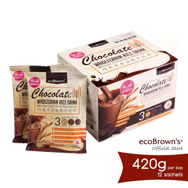 ecoBrown's Chocolate Beverage (Energy) 420g