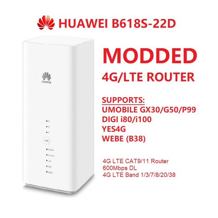 Huawei LTE Router B618S-22D
