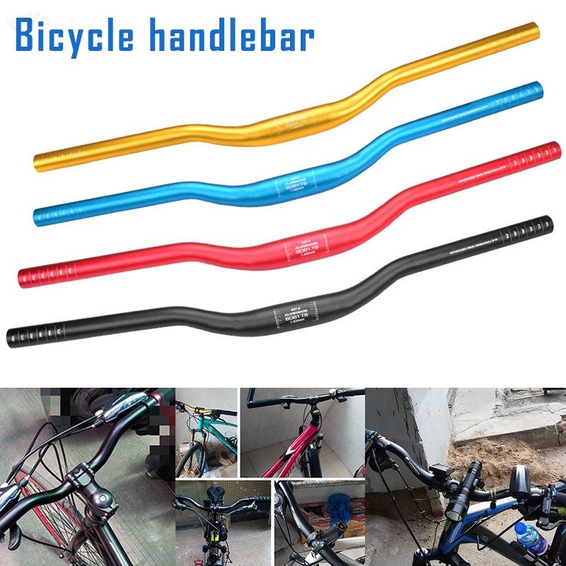 Details about  /31.8x620mm Aluminum Handlebar Straight MTB Bicycle Riser Flat Handle Bar