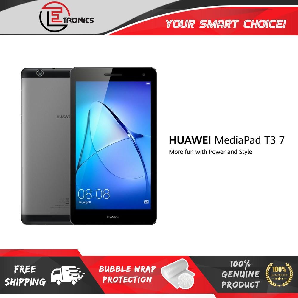 Huawei Mediapad T3 7 0 3G Space Gray (2GB+16GB Rom)- HUAWEI MALAYSIA  WARRANTY