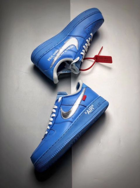 NIKE SHOES AIR FORCE 1 LOW OFFWHITE CASUAL SHOES MEN PREMIUM
