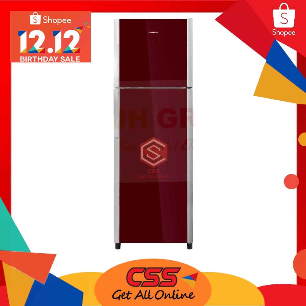 Faber 200L 2 Door Glass Refrigerator FRIGOR 268RD