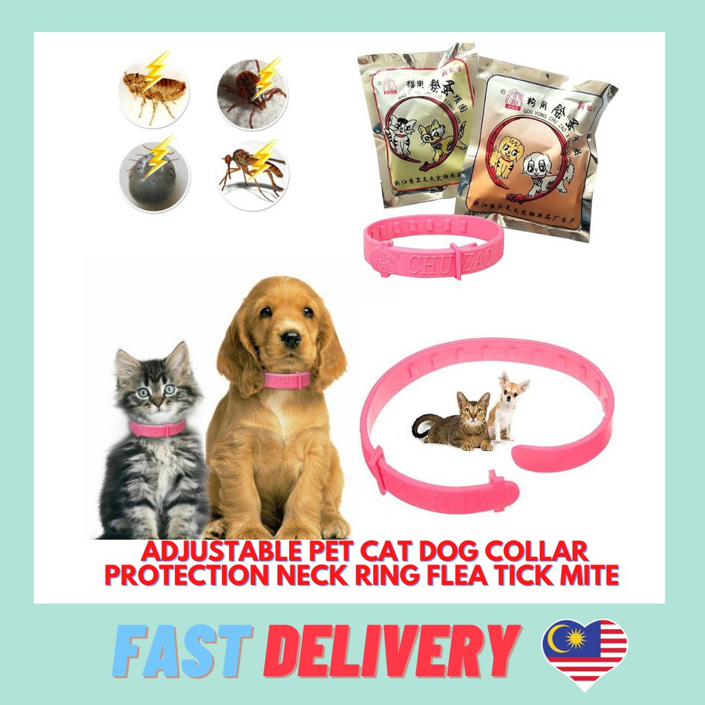Best Selling Adjustable Pet Cat Dog Collar Protection Neck Ring Flea Tick Mite Louse Remedy