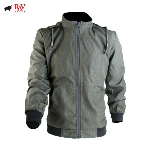 [100% Original] Rav Design Men's Jacket Coat Windproof |RLJ29652592