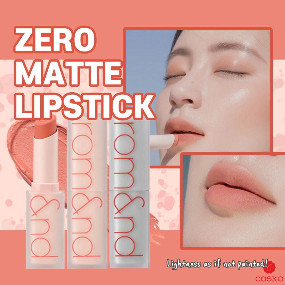 ROM&ND Romand Zero Gram Matte Lipstick 3.5g MLBB 8 Color
