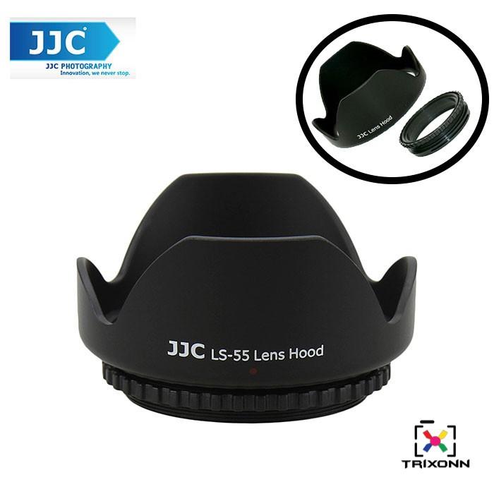 JJC LS-55 Universal 55mm Flower Petal Lens Hood for SLR//DSLR Camera Lens