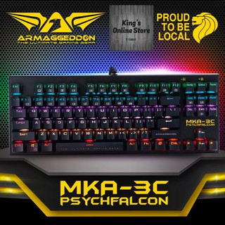 80541db4a3b Armahheddon MKA-5R RGB Falcon Mechanical Gaming Keyboard | Shopee ...