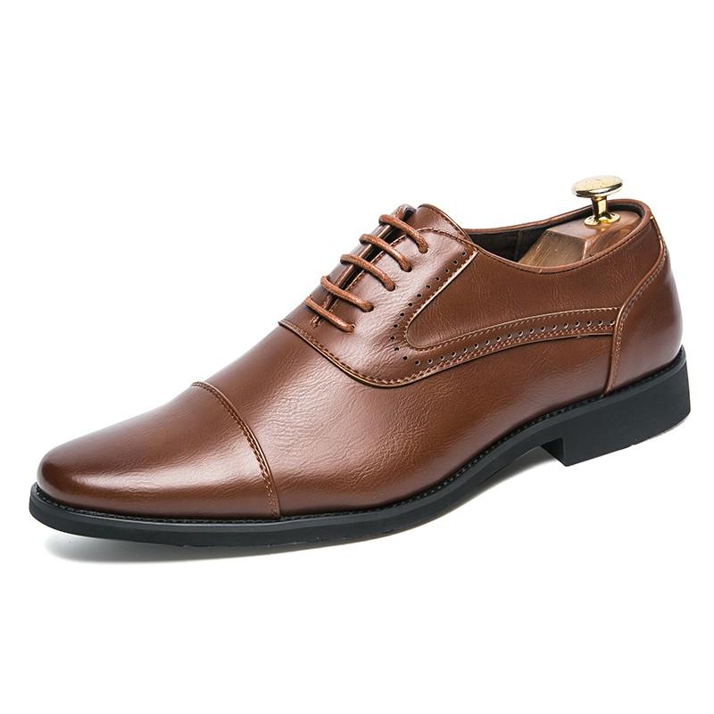 รองเท้าผู้ชาย ออกฟอร์ด สำหรับสุภาพบุรุษ Size 38