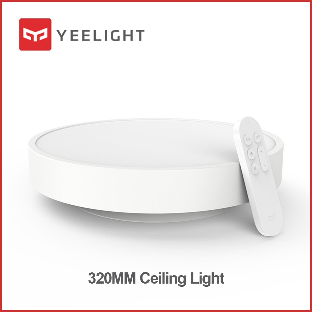 Ceiling Lights Yeelight Ylxd01yl Smart Ceiling Light Lamp Dust Resistance Wireless Remote Mi App Wifi Bluetooth Control Intelligent Led Colors