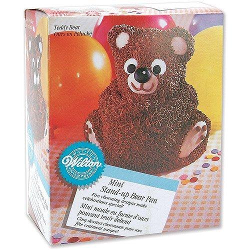 WILTON, Baking Pan - Standing Bear, 4 x 3.25 x 4.75H, Aluminium