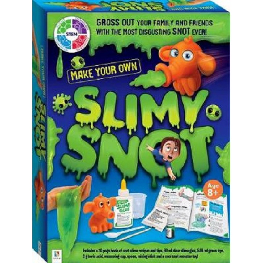 Make Your Own Slimy Snot Slime Kit ISBN: 9781488911866