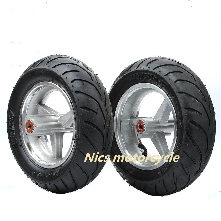 One Rims Tyres 110 50 6 50 90 65 6 5 Rear Back Front Wheel Road Tyre Tire 49cc Mini Pocket Rocket Pit Bike Shopee Malaysia