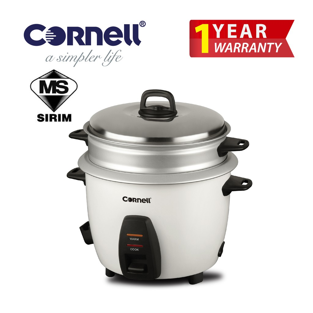 Cornell Conventional Rice Cooker (1.8 L) CRC-CS182ST