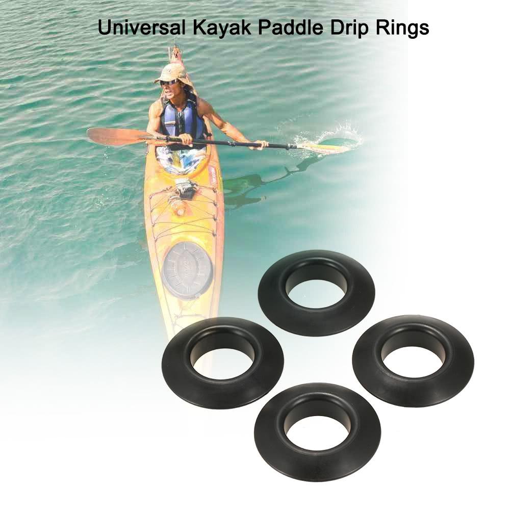 6x Black Nylon Lashing Hook Bungee Hook J Hooks for Kayak Canoe Paddle Board