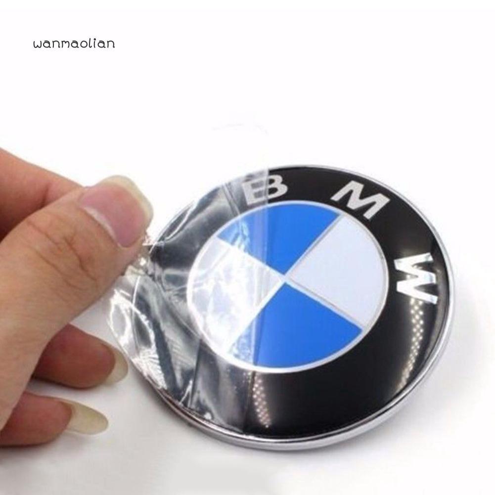 82MM New BMW Badge Bonnet Boot Front Emblem and M Sport Key Ring E36 E60 M3 X5 Z