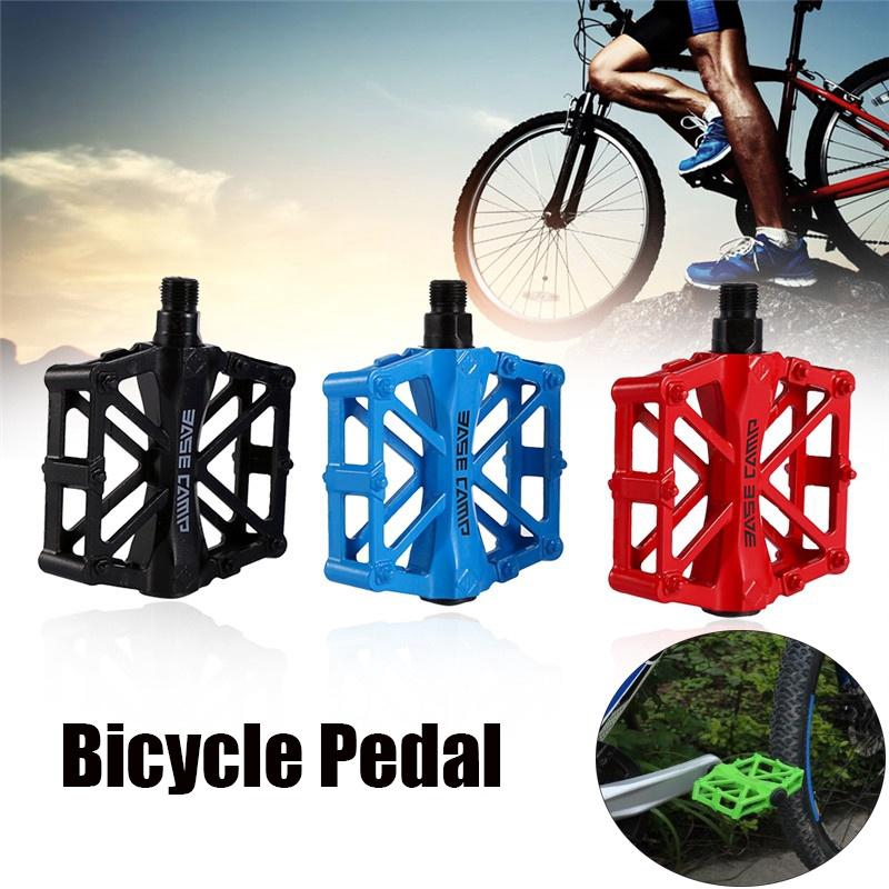 Black//Orange//Blue//Red Bicycle Pedals Durable Ultra-light Bike Pedal 1 Pair 480g