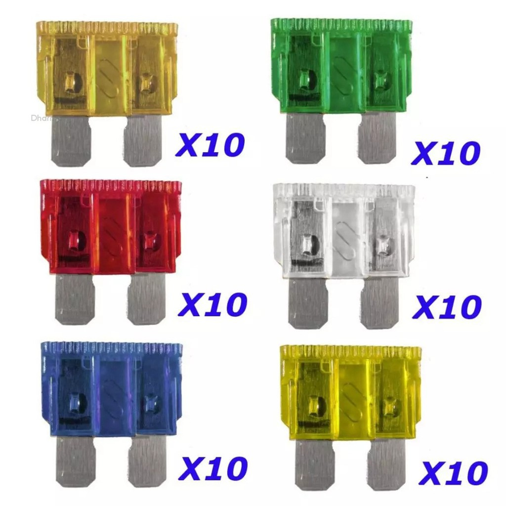 van motorbike 4A Fuse car New inline Mini Blade fuse holder and x5 mini fuses