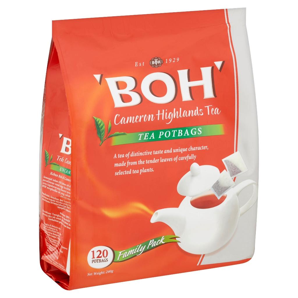 BOH Cameron Highlands Tea (240g x120 Potbags)
