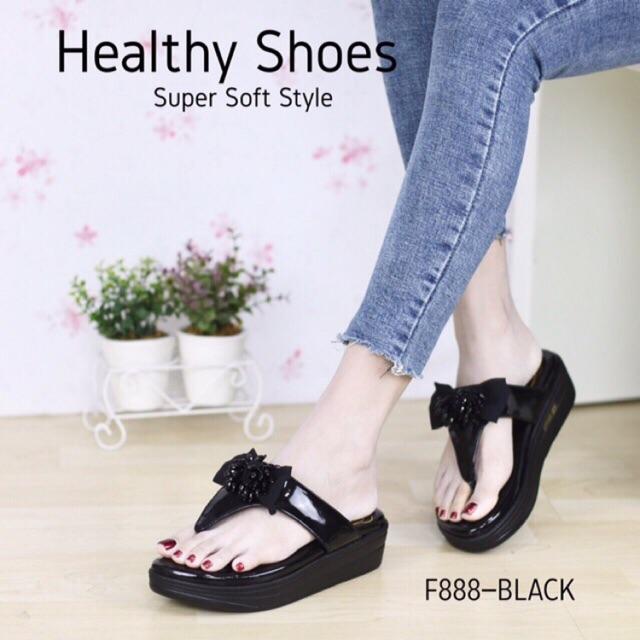 ♥โค๊ด NEWRAHK ลดเพิ่ม 80฿♥ รองเท้าพื้