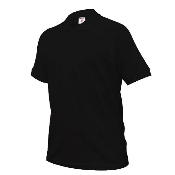 Plain Black White Polo Collar Shirt Unisex Tshirt Kosong Berkolar Shopee Malaysia