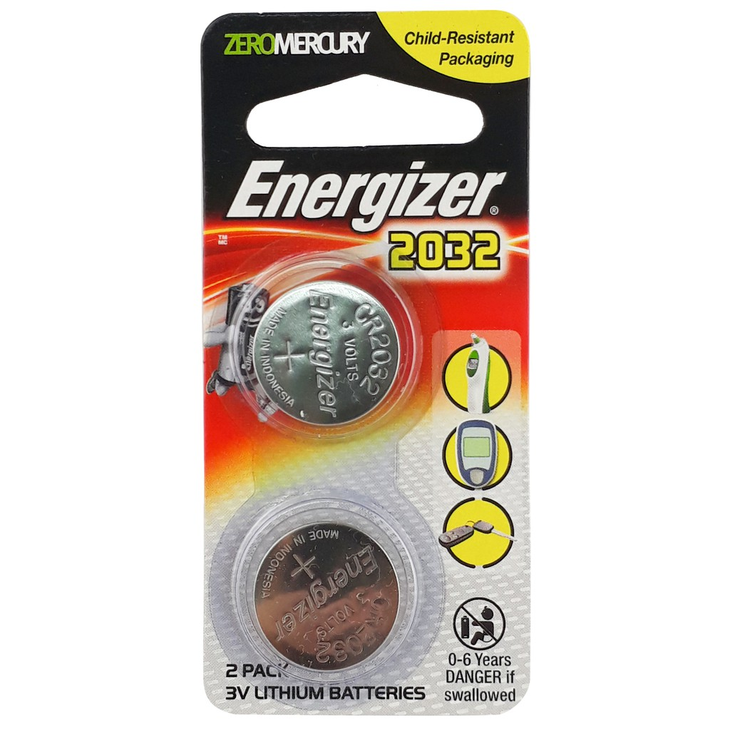 Energizer Battery Lithium ECR2032BS2G