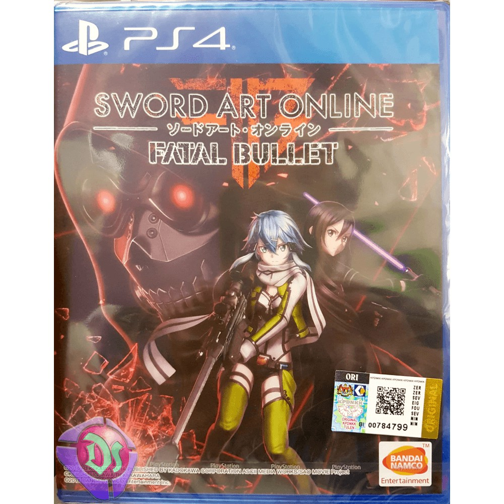 Sword Art Online: Fatal Bullet - PS4 Game | ENGLISH | R3