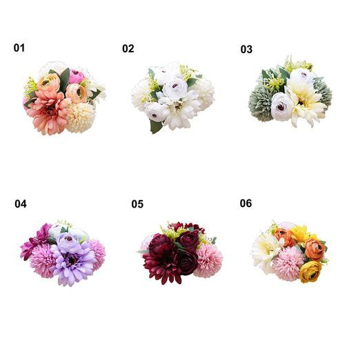 High Simulation Small chrysanthemum Home Decor Wedding Silk Flower 16 colors NEW