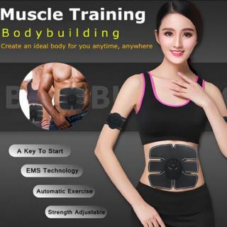new power fit vibration abdominal muscle trainer body