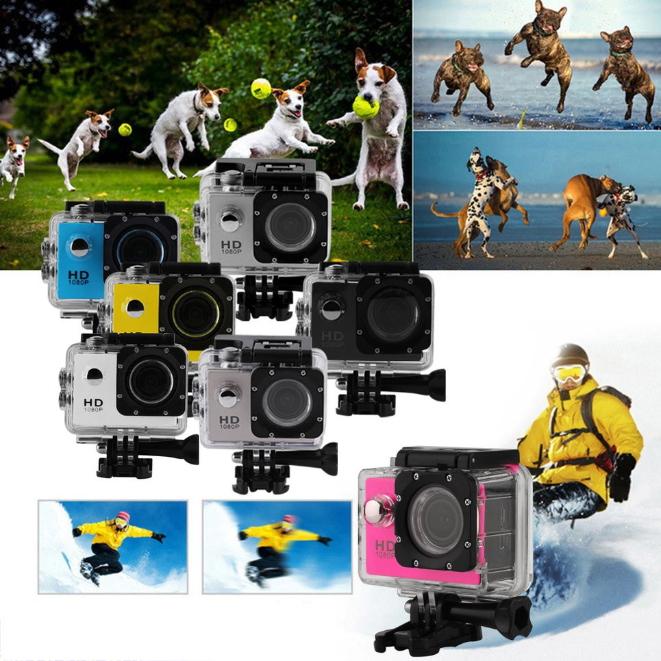 Kogan Sport Action Camera 1080p 12mp Waterproof Gopro Killer Cam Full Hd Dv Sj4000 Sj4000sj7000 Sj9000 Shopee Malaysia