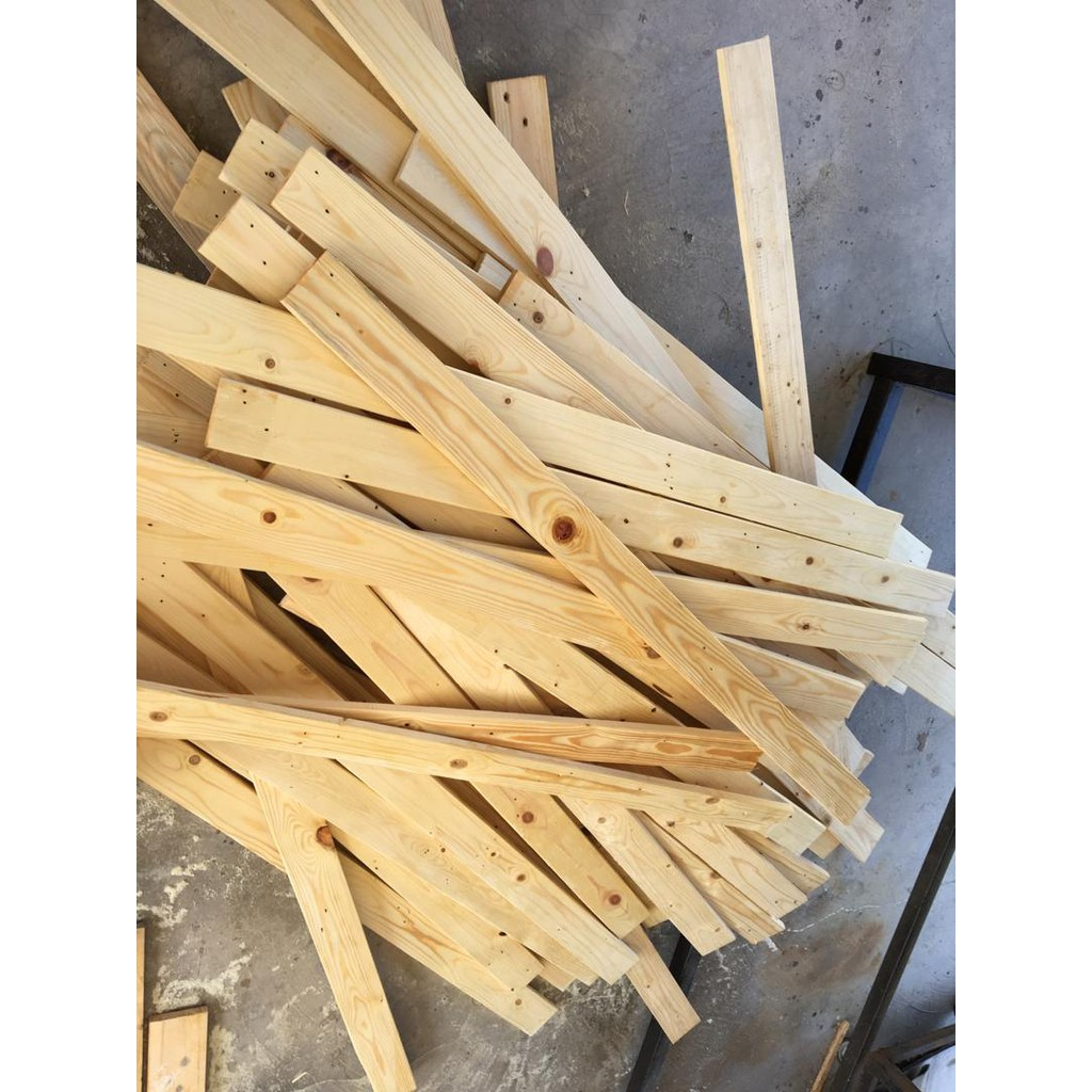 40 Keping Kayu Pallet Pine 21inch